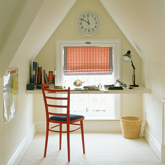 Play And Study Room: Study Space In Child's Tiny Room