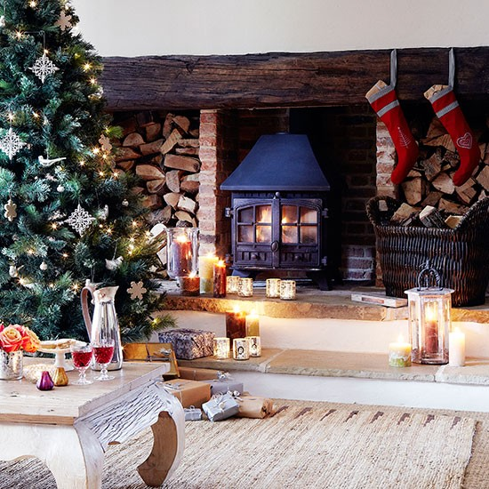 Country Home Decorating Ideas: Country Christmas Decorating Ideas