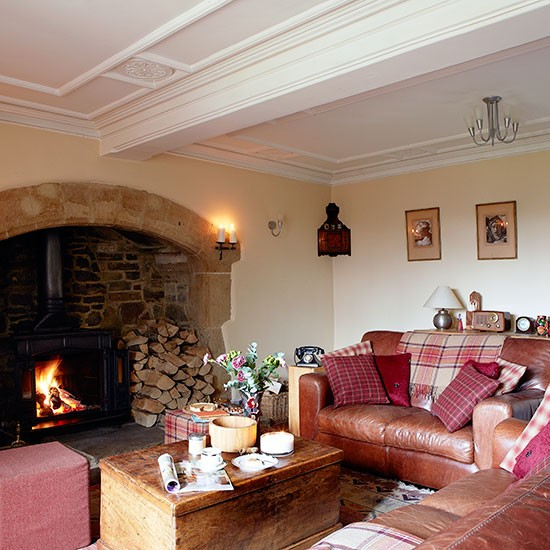 Country House Living Room: Take A Tour Around This Cosy Country Home In