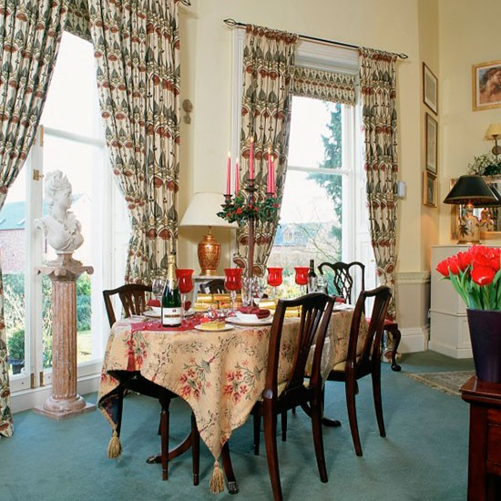 Opulent Traditional Dining Room