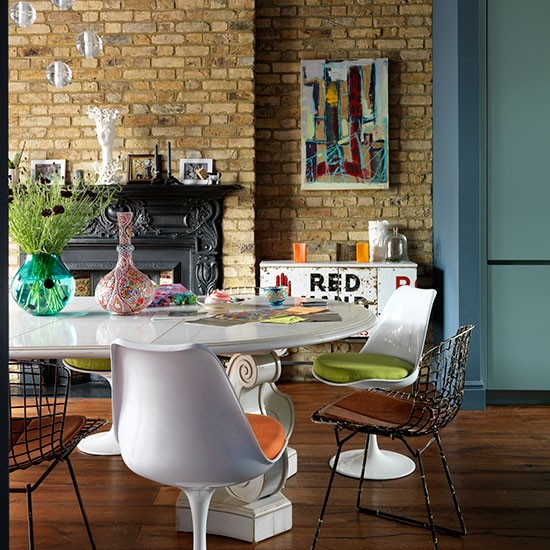 Modern Industrial Dining Room: Modern Dining Room With Industrial Touches