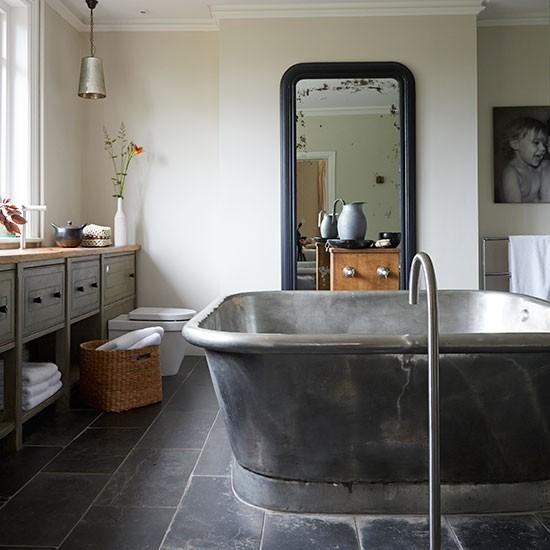 Housetohome Co Uk: Modern Bathroom With Oversized Bath