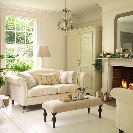 Country House Living Room: Georgian Country House In Essex