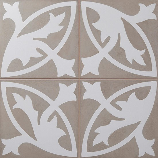 Camden Floral Lys Tile From Topps Tiles
