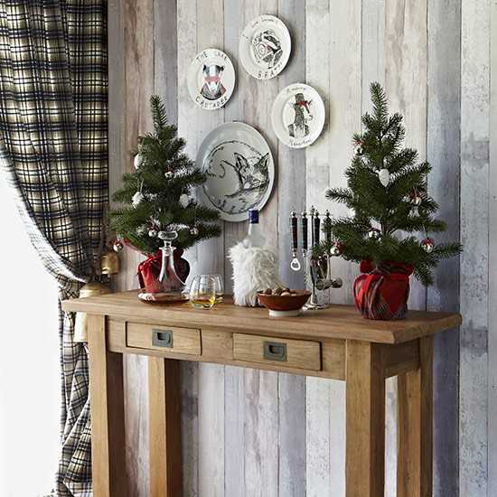 Ideas For Decoration: Country Christmas Table Ideas
