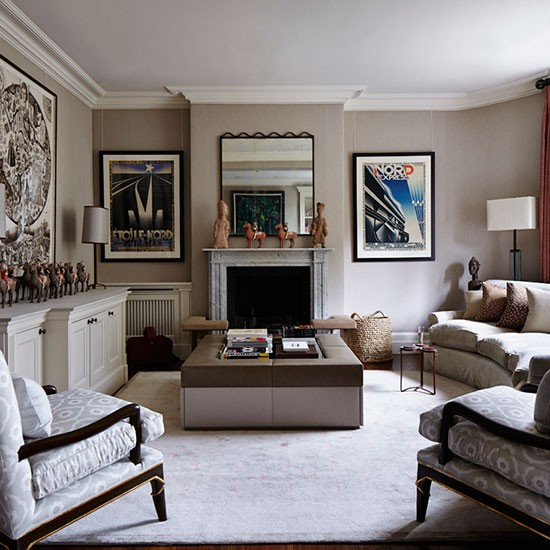 Salle A Manger Gris Taupe: Taupe Living Room Ideas