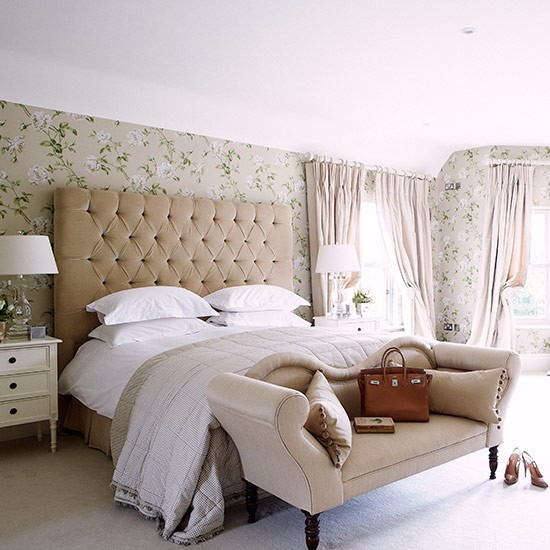 Hotel-luxe bedroom | Country bedroom design ideas ...