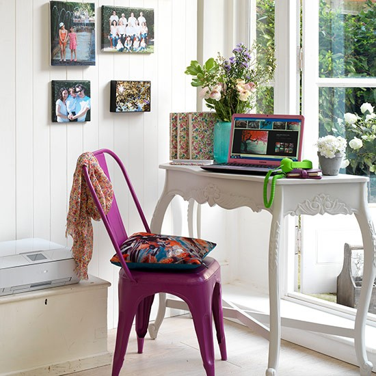 Elegant Office Decorating Ideas: Country Home Office Design Ideas