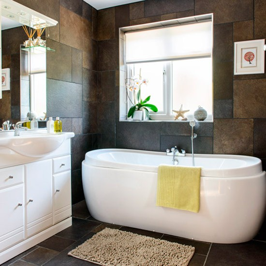 Modern bathroom | House tour | 1930s Surrey semi ...