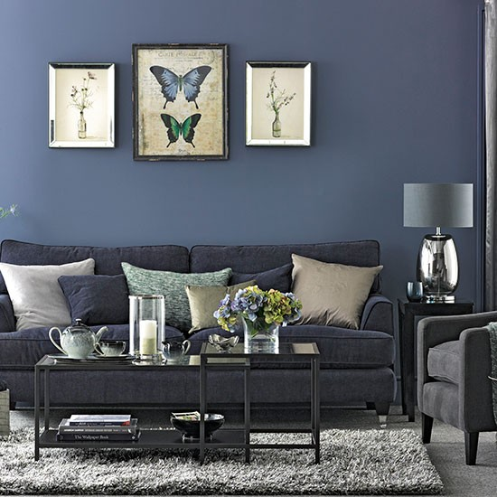 Blue And Gray Bedroom Decorating Ideas: ... Bedroom Designs With White Blue