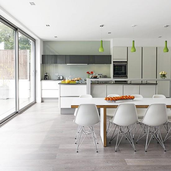 White Social Kitchen-diner Extension