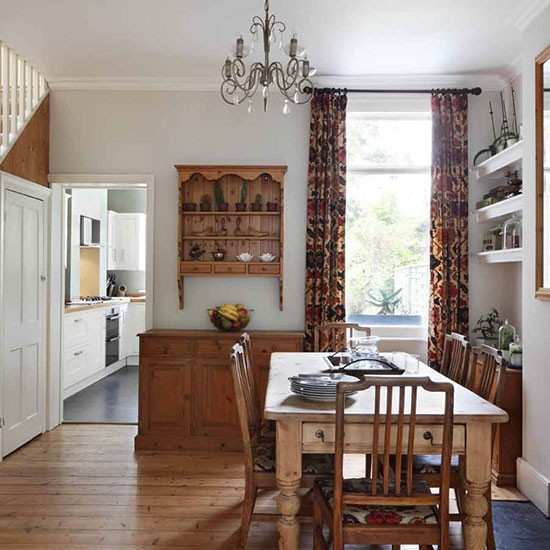 Victorian Dining Room: London Terraced House