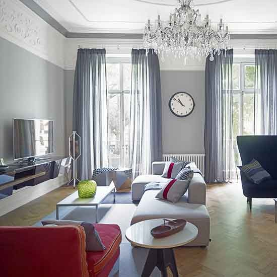 Victorian Sitting Rooms: Renovated Victorian London Home