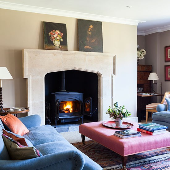 1000 images about wood burning stoves on pinterest wood - Living room with wood burning stove ...