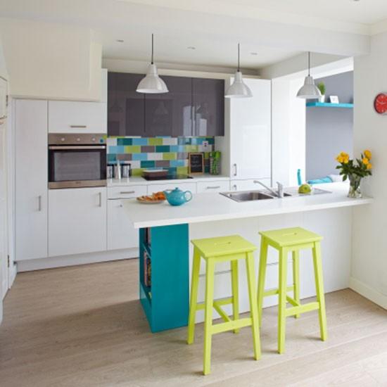 Bright Kitchen: Housetohome.co.uk