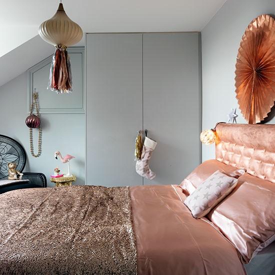Copper And Grey Bedroom Ideas