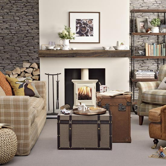 Casual Living Room Decorating Ideas: Tanzania: COUNTRY CASUAL LIVING ROOM