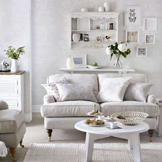 White Living Room Ideas: Traditional Living Room Ideas