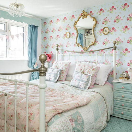 Country Chic Bedroom Decorating Ideas: Country-style Home