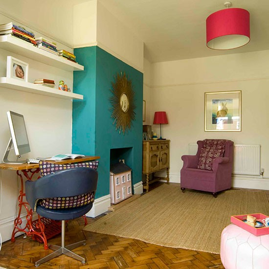 Home Design In Uk: Living Room Fireplace