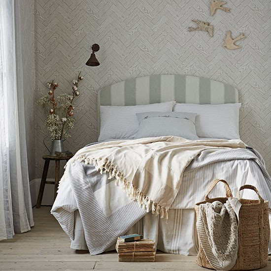 Neutral Modern Country Bedroom