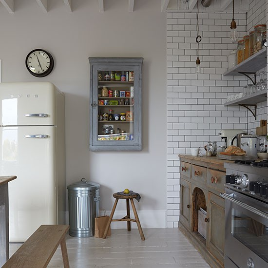Victorian Style Kitchens: Victorian Terrace Flat In London