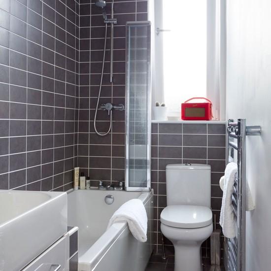 Grey Small Bathroom Ideas: Small Bathroom Design Ideas