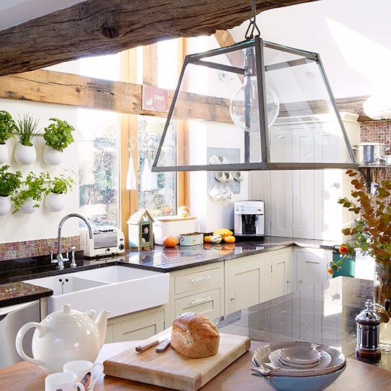 Country Kitchen Lighting: Country Kitchen Pictures
