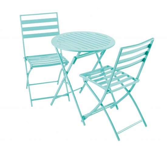 Aqua Milan Bistro Set From Tesco Direct Budget Garden