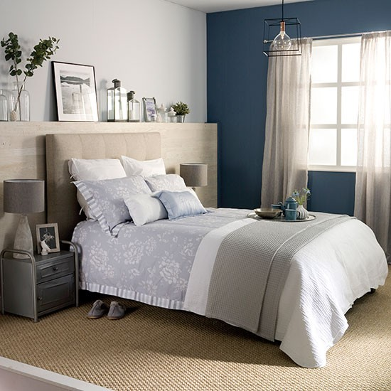 See Inside Our Rustic Glam Bedroom Ideal Home S 2014
