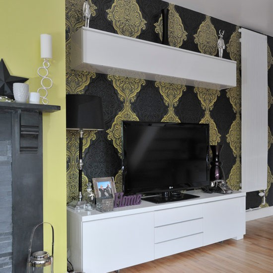 Media Room Storage: Living Room TV Unit With Storage