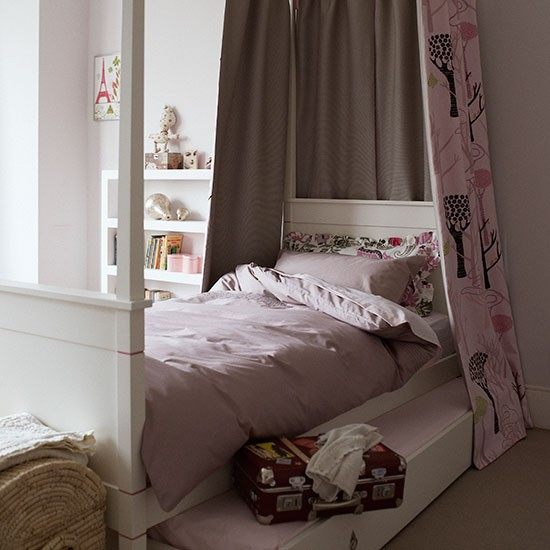Pretty But Practical Girl's Bedroom