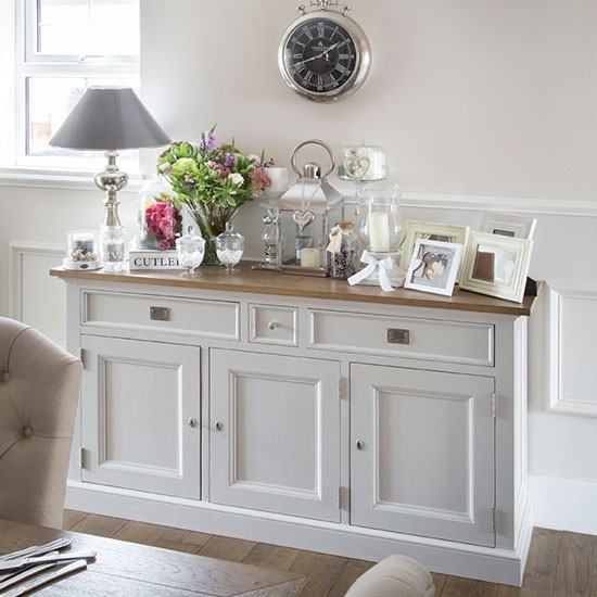 Dining Room Buffet Ideas: Cream Dining Room Sideboard
