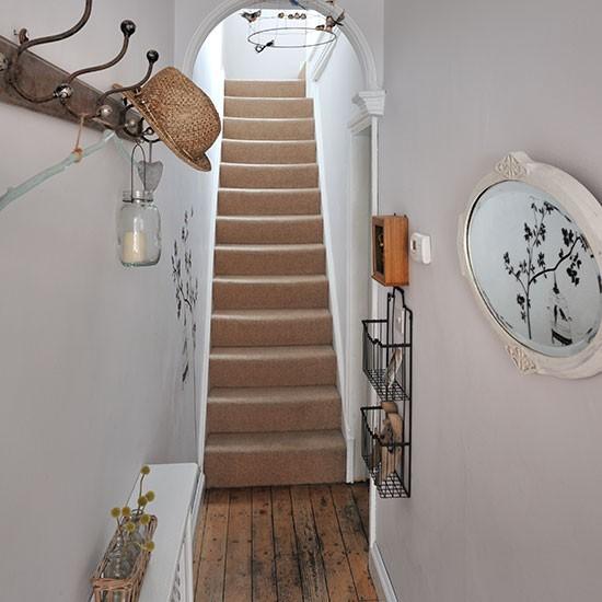 Neutral Vintage Style Hallway