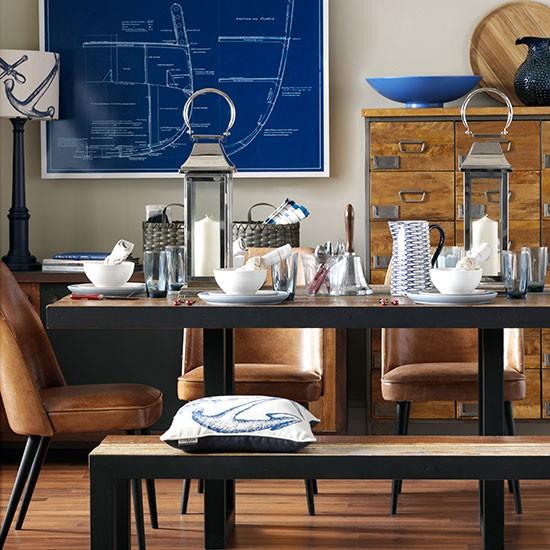 Art Décor: Nautical Dining Room