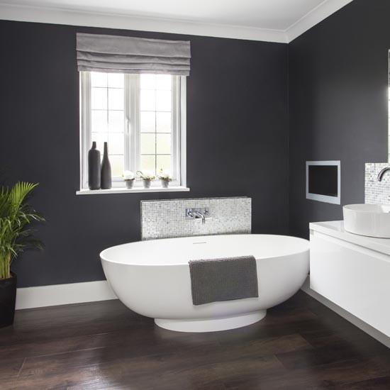 Makeover Glamorous Grey Bathroom Housetohome Co Uk