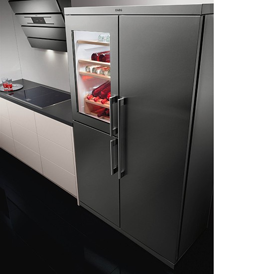 S95800XTM0 Perfekt Fit fridge-freezer from AEG | 10 best American-style fridge-freezers ...
