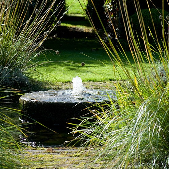 Ideas For Garden Design Relax: Soothing Garden Water Feature