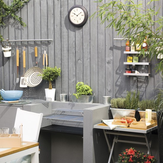 Garden Kitchen With Barbecue
