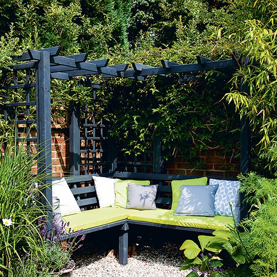 10 Best Atlanta Landscape Design Images On Pinterest: Garden Corner With Dual-purpose Seating