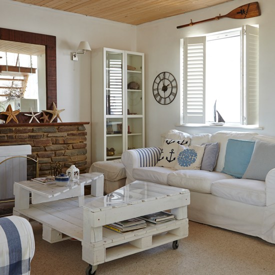 10 Beach House Decor Ideas: Coastal Interiors For Living Rooms