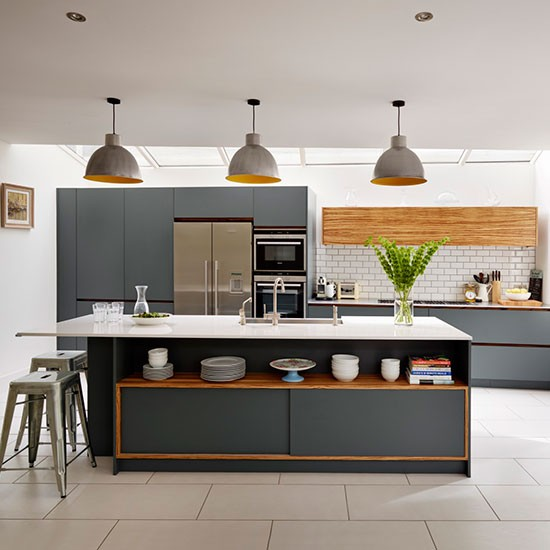Paint Ideas For Kitchens With Dark Cabinets: Painted Kitchen Design Ideas