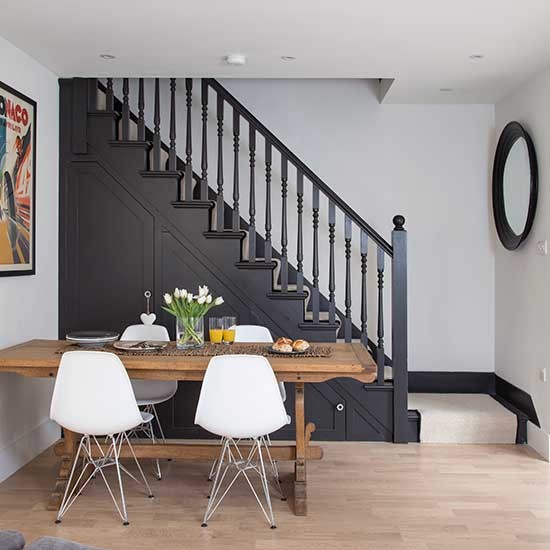 Dining Idea Room Storage: Under-stair Dining Room Storage