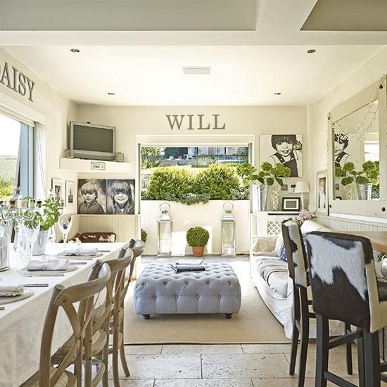 Living Room Style Kitchens: Open Plan Living Room Design