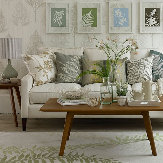 Themed Living Room Ideas: Small Country Living Room Ideas