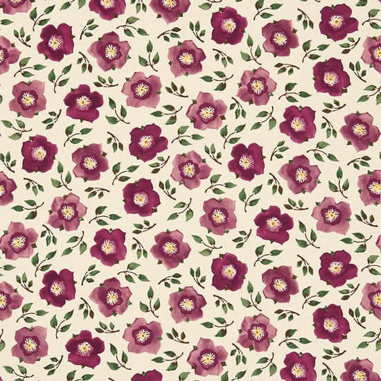 Hellebore China Fabric By Emma Bridgewater From Sanderson