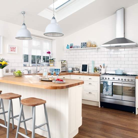 breakfast bar  small kitchen design ideas  decorating