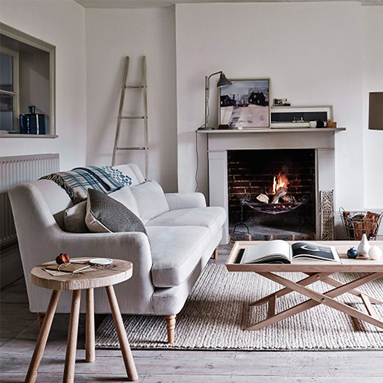 Modern Country Living Room Decor: Classic And Contemporary Design Meet In John Lewis's New