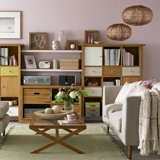 Living Room Storage Systems: Look To Freestanding Storage
