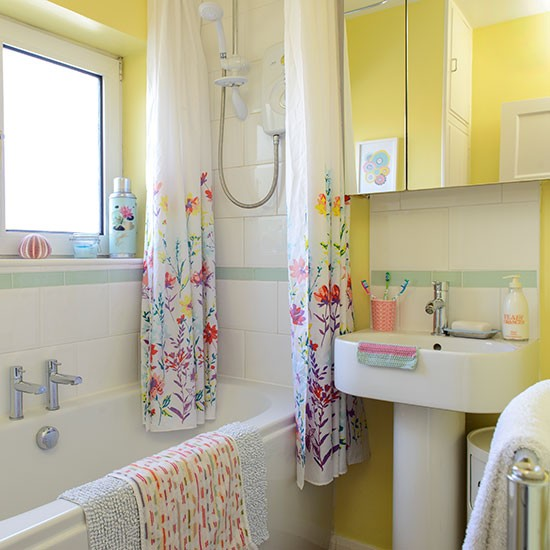 Bright Yellow Bathroom Colors: Decorating With Bright Colours